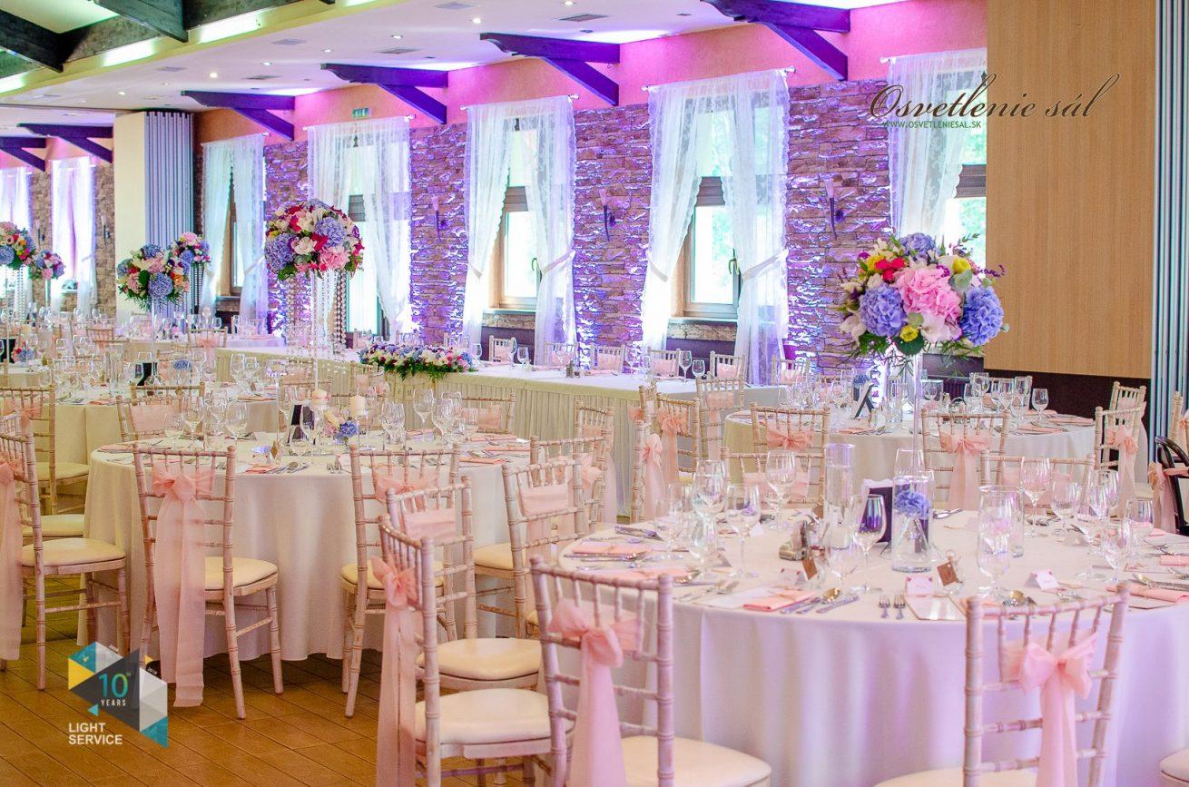 Svadobná výzdoba reštaurácie BEREK od svadobnej agentúry Pretty Wedding