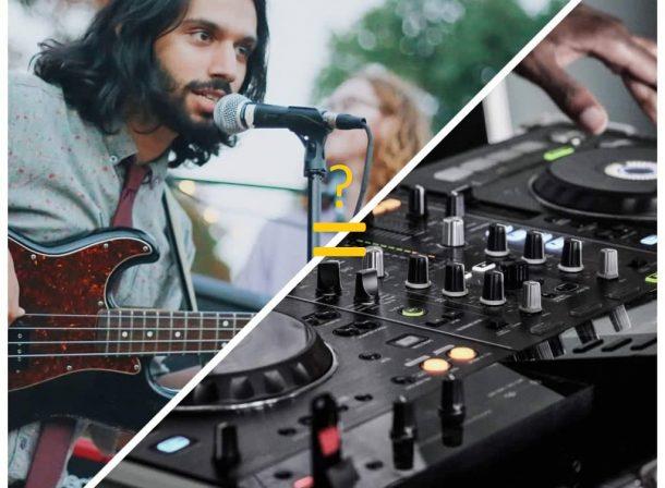 dj na svadbu alebo kapela
